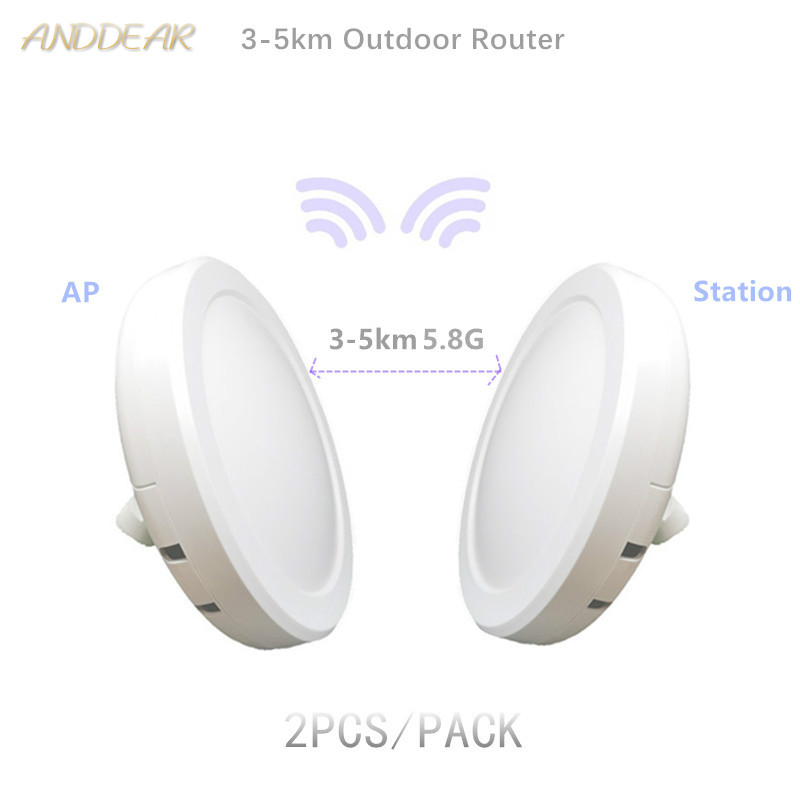 9344 9331 3-5km 10/100/1000M Chipset WIFI Repeater CPE Long Range 1200Mbps5.8G Outdoor AP Router  AP Bridge Client Router