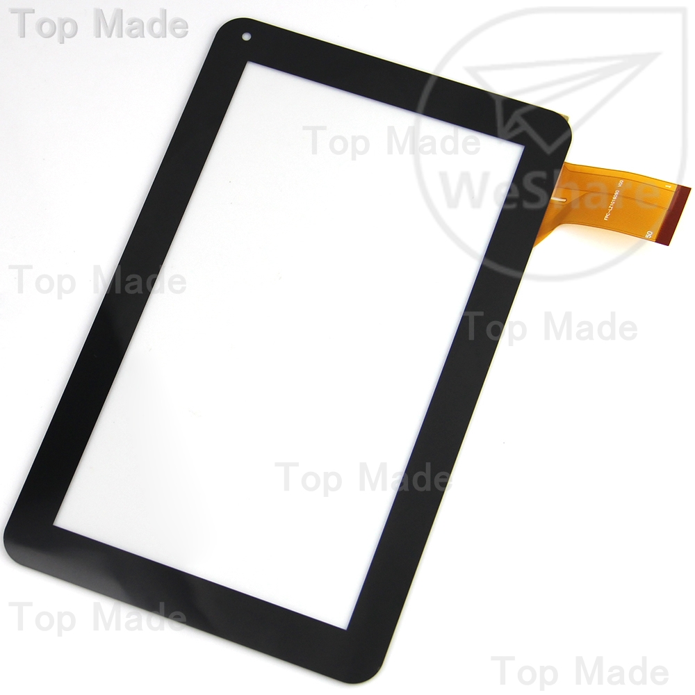 9 Inch Black Capacitive Touch Screen for FPC-LZ1016090 V00 Tablet Panel Digitizer Glass Replacement Free Shipping black capacitive touch screen digitizer glass 9 7 inch tablet touch panel replacement ad c 971242 fpc free shipping