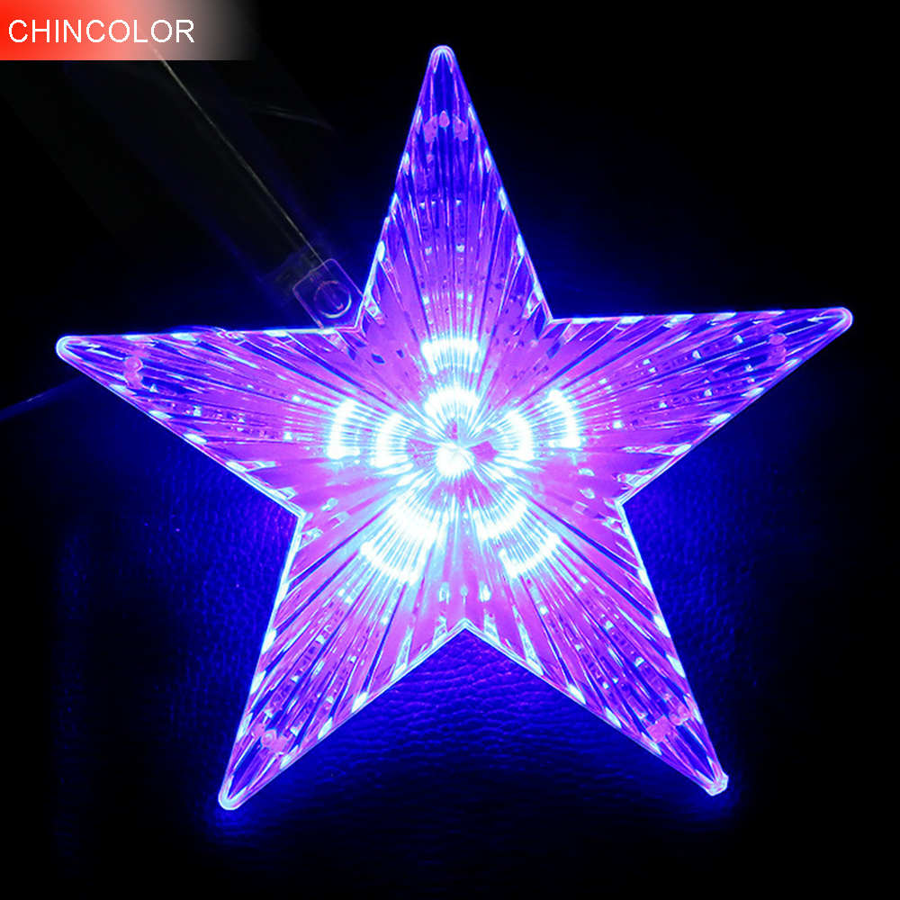Holiday Lights Huge Meteor Five Pointed Star Led Light