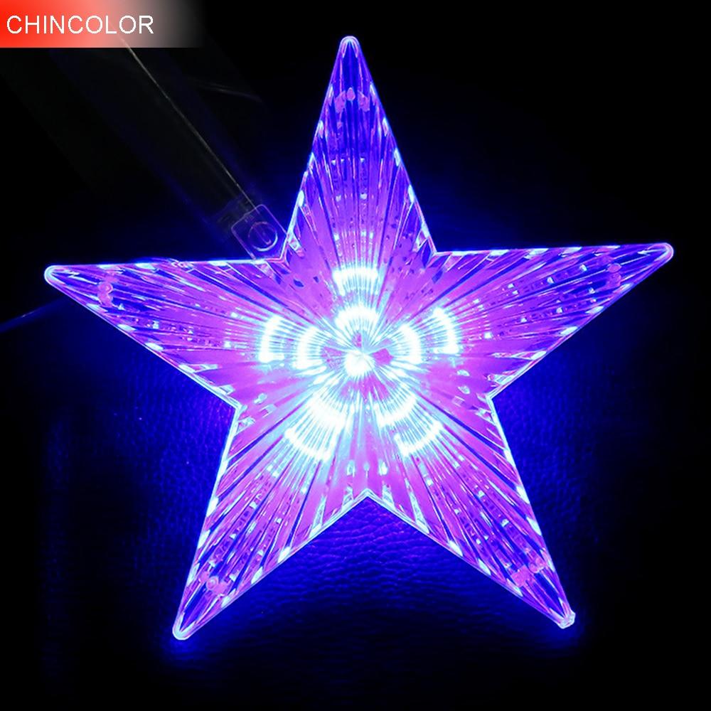 Led Lights Ender 3: Holiday Lights Huge Meteor Five Pointed Star Led Light
