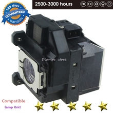 H433B EB-S02 EB-S11 EB-S12 EB-W12 EB-W16  EB-X12 EB-X14 EB-X14G EH-TW550 EX3210 Projector Lamp ELP67 V13H010L67 for EPSON цена