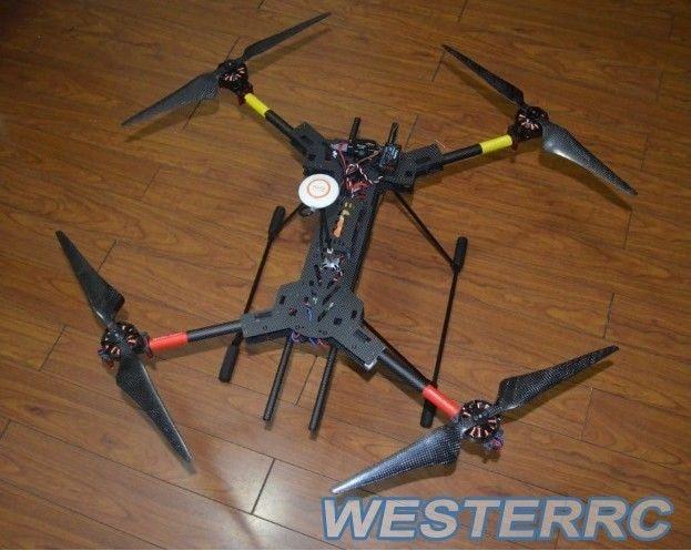 H4 Folding Quadcopter Carbon Fiber Frame & Landing Gear