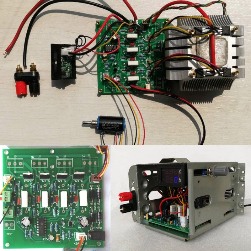 150 watt 10A Konstante Strom Elektronische Last Tester Batterie Entladung Kapazität Test