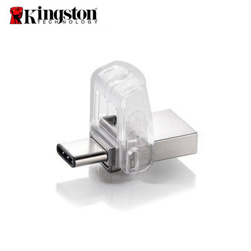 Original Kingston USB Flash Drive 64GB 32GB USB 3 1 Type C Pendrive USB 3 0