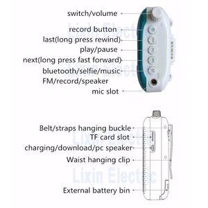 Image 5 - Rolton K500 Bluetooth Altoparlante Microfono Amplificatore di Voce Booster Megafono Altoparlante Supporta La radio FM TFCard Lettore Mp3
