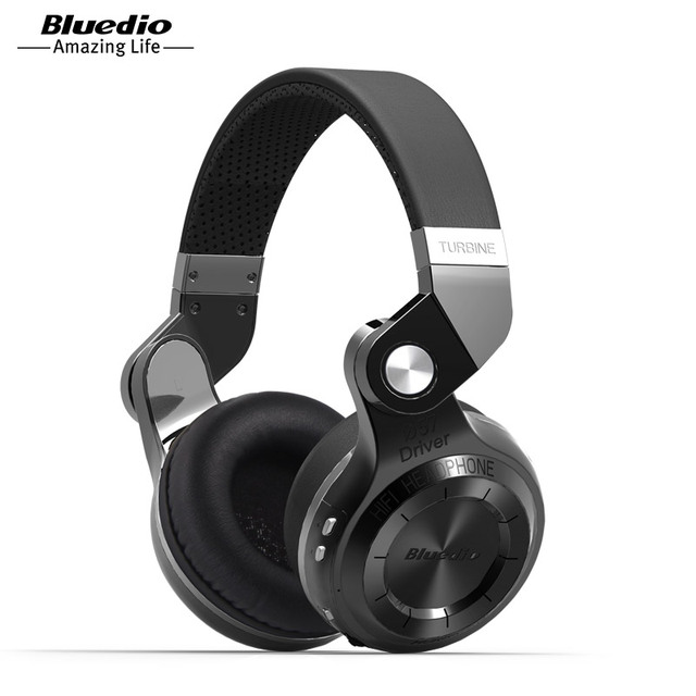 Bluedio T2S (Break de chasse) Bluetooth stéréo casque casque sans fil Bluetooth 4.1 casque casque