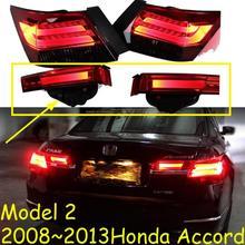 2008 ~ 2012 سنة الذيل مصباح سيارة هوندا أكورد الضوء الخلفي اكسسوارات السيارات LED DRL الذيل ل أكورد الضباب الخفيف