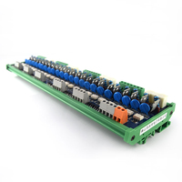 24 channel PLC AC amplifier board output board power board optocoupler isolation board contactless relay