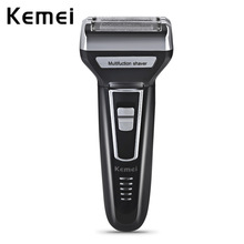Kemei 3 In 1 Twin Blade Electric Shaver Rechargeable Electric Razor Men