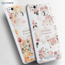 3S 3D Relief Print Transparent Soft TPU Back Cover Case For Xiaomi 2016 Redmi 3 Pro Redmi 3S Phone Bag Coque Hot New Style