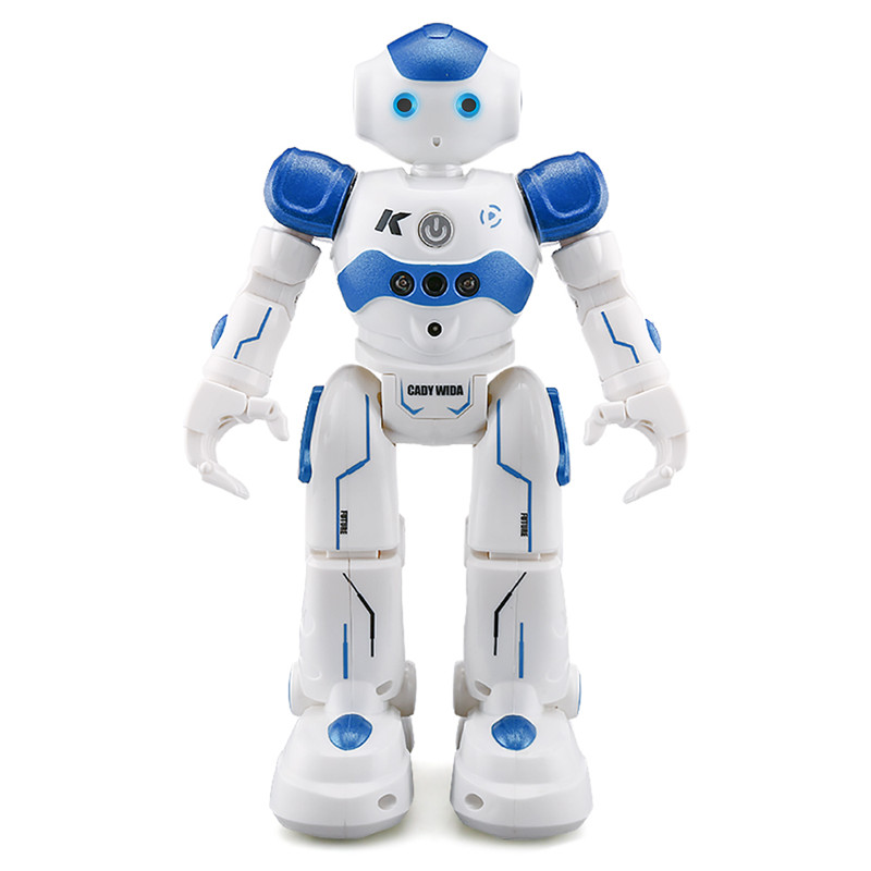 Fansaco Intelligent Voice Robot Dancing Toy Gesture Control RC Robot Action Figure Programming Birthday Gift For Kids Children