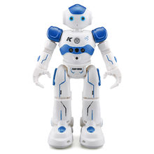 Fansaco Intelligent Voice Robot Dancing Toy Gesture Control RC Robot Action Figure Programming Birthday Gift For Kids Children(China)