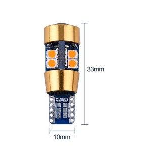 Image 2 - 100 Uds., 12 V 24 V T10 Canbus 19 SMD 3030 sem erros Nao polaridade Spot 168 W5W 194, Licenca De coche De Estacionamento lámpara luz Est