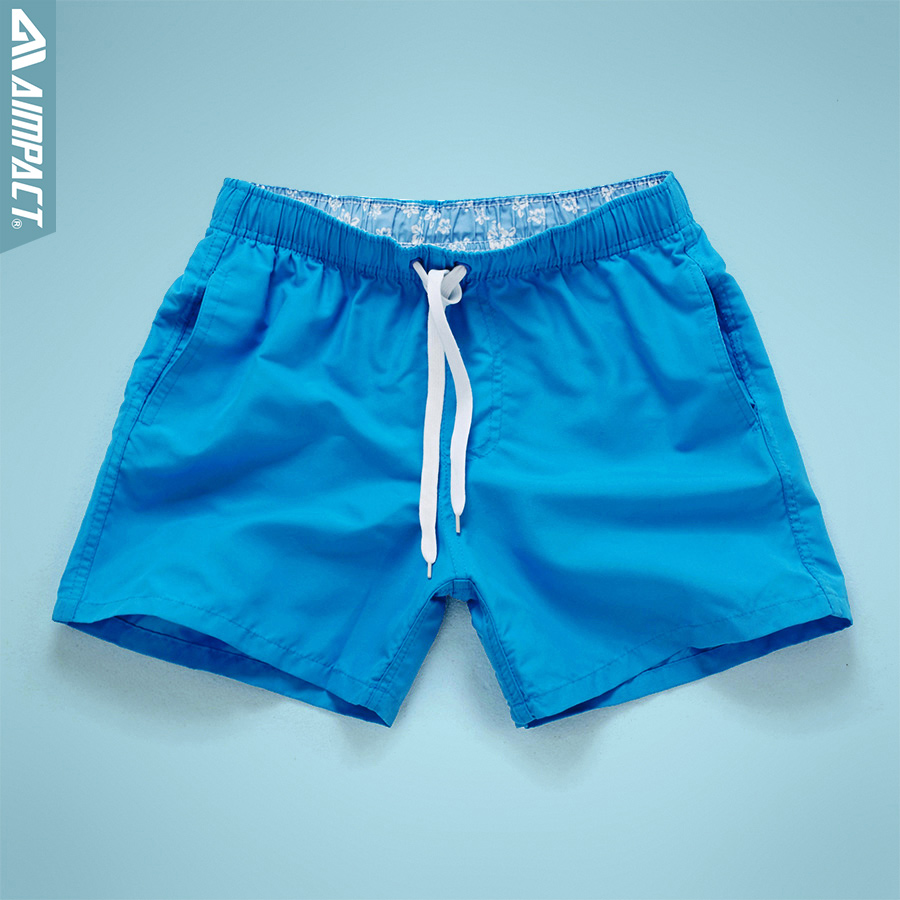 Aimpact Quick Dry Board Shorts for Men Summer Casu...
