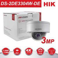 HIK PTZ Dome CCTV Kamera DS-2DE3304W-DE 3MP Netzwerk Mini PTZ IP Kamera PoE 2,8-12mm 3D Positionierbare IP67 pan Tilt Zoom