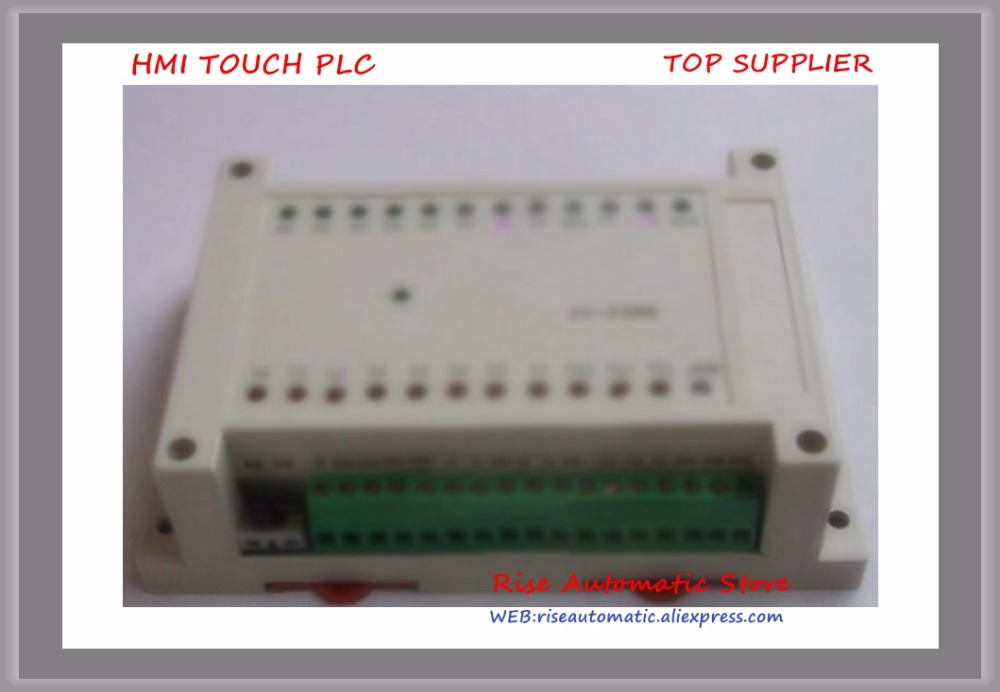 NEW FX2N 23MR 12 input 11 relay output PLC with RS232 cable by GX Developer ladder
