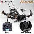 Walkera Devo7 TVL800 Furioso 320 RC Drone con Cámara 1080 P 2.4G Transmisor RTF Quadcopter OSD PPC Modular F16884/85