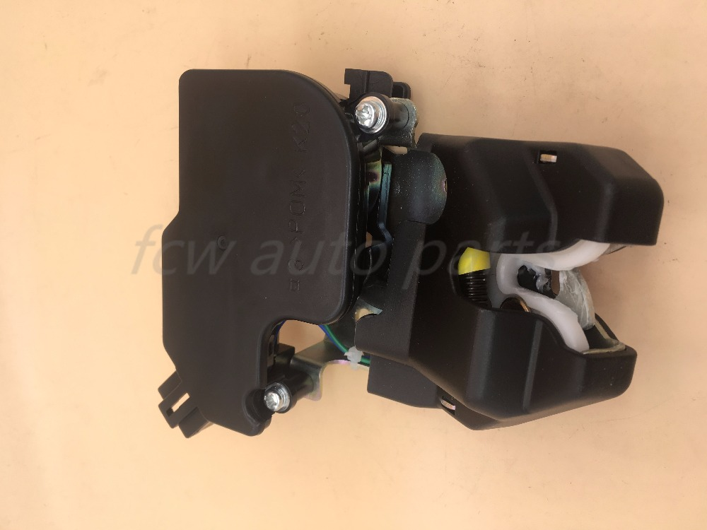 74851-SNB-J12 74851SNBJ12 REAR tailgate TRUNK LUGGAGE LID LATCH LOCK ASSY For HONDA CIVIC VIII Saloon (FD, FA) 06-17 4D 06-12