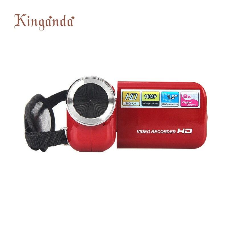2016 Popular Portable Digital Video Camera 3 Color 1 5 Inch TFT 16MP 8X Digital Zoom