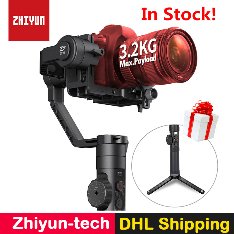 Zhiyun Crane 2 Handheld 3-Axis Camera Stabilizer Follow Focus Gyro Gimbal for Nikon Canon Sony Panasonic DSLR Mirrorless Cameras цена