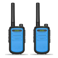 מכשיר הקשר 2pcs 100% מקורי WLN KDC10 מכשיר הקשר UHF 400-470MHz 16 אמאדור רדיו Ham ערוץ Mini שני הדרך רדיו תחנת FMR PMR KDC10 (5)
