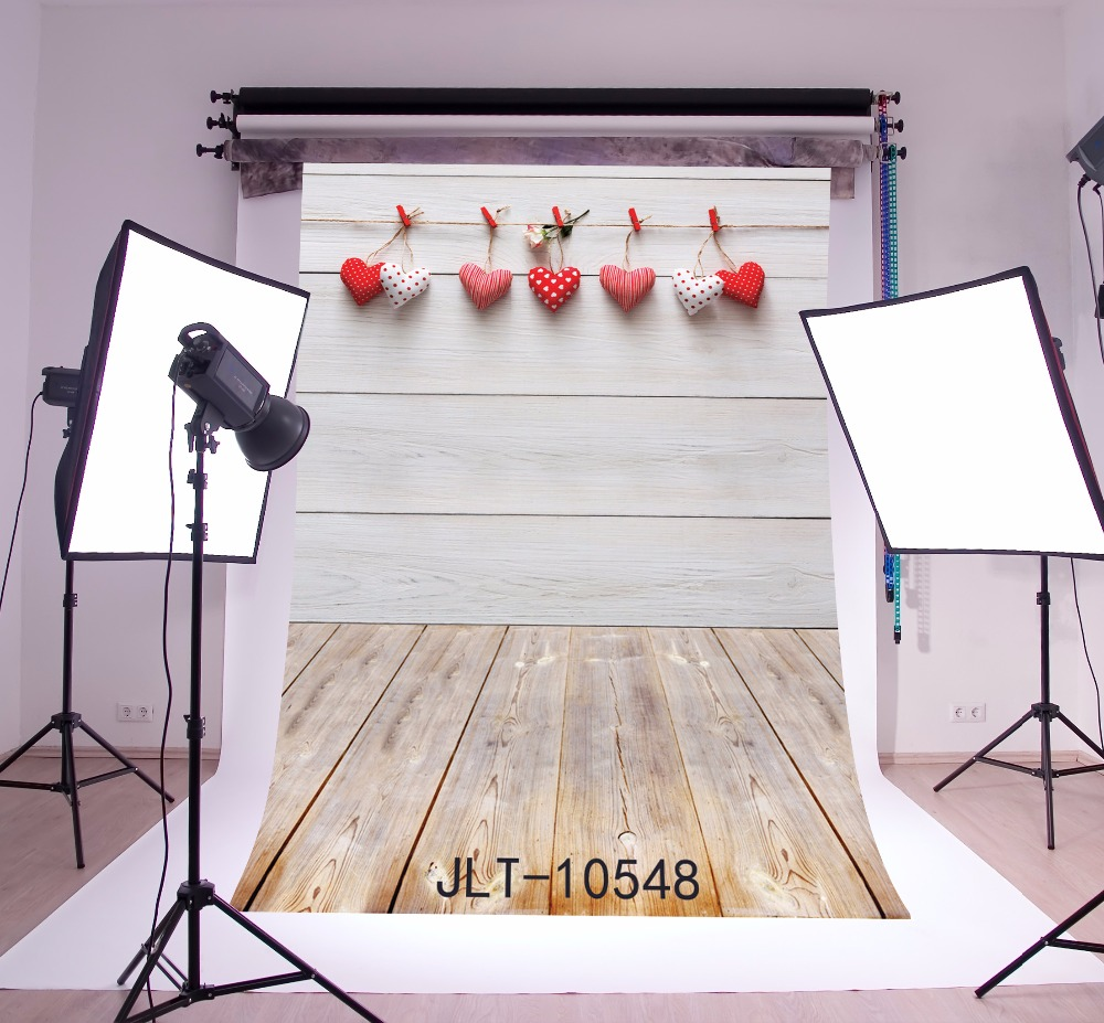 SHANNY Vinyl Custom Valentine day Photography Backdrops Prop Wooden and floor Theme Photography Background 10548 шарф женский element lisette light coco