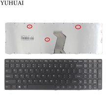 Novo para Lenovo G500 G505 G500A G505A G510 G700 G700A G710 G710A G500AM G700AT Laptop Keyboard EUA 25210891 MP-12P83US-6861(China)
