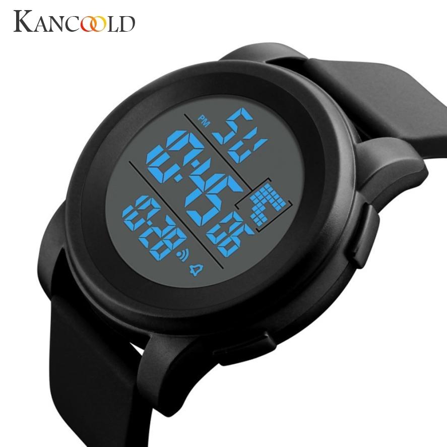 Men's Watch Luxury Men Analog Digital Military Army Sport Watch LED Waterproof Wrist watches man clock drop shipping 2018JUL16