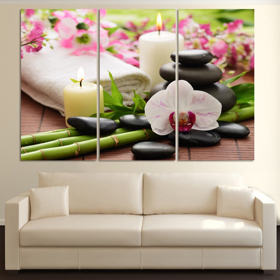 Hd Canvas Prints Picture Spa Nail Salon Store Decor Wall: Aliexpress.com : Buy Canvas Wall Art Pictures Home Decor 3
