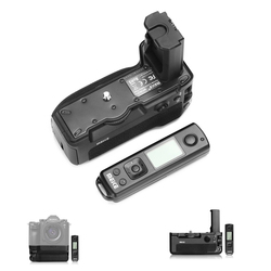 Meike MK-A9 PRO Battery Grip for Sony A9 a7R III Battery Grip Holder Built-in 2.4GHz Remote for Sony A9 A7 III A7M3 Camera