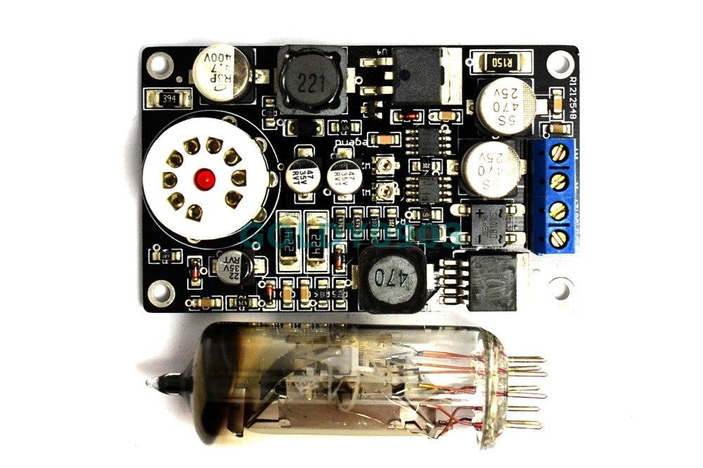 6E2 Tube Cat Eye Drive Board Amp Preamp DAC Audio LED Level Meter VU