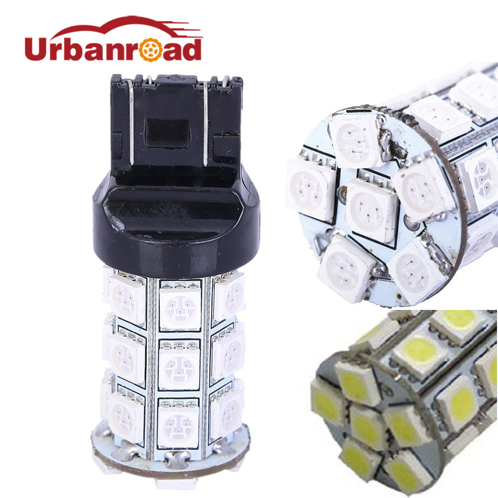 цена на 1PC 5050 SMD Led t20 w21w 7440 drl Daytime Running Lights Reverse Driving Lights white t20 7443 7440 Signal Lamps