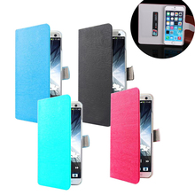 Toq Quality Leather PU Flip Case For Coolpad Porto S E570 Mobile Phone Cases Fashion Wood Stand Wallet Cover Free Shipping e570
