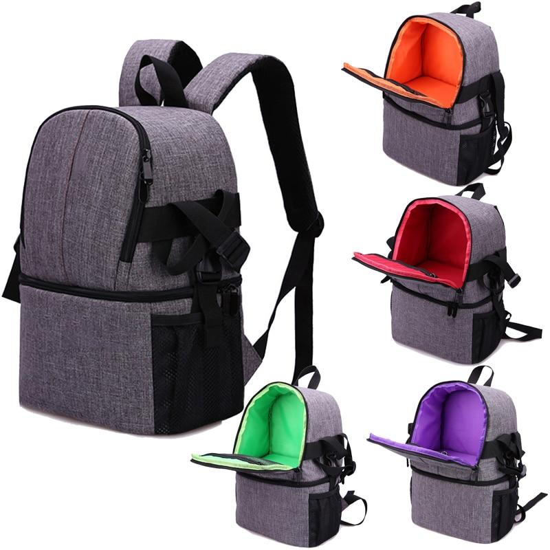 цены Travel backpack Photo Camera Bag Case Cover For Canon EOS 200D 77D 7D 80D 800D 1300D 6D 70D 760D 750D 700D 600D 100D 1200D 1100D