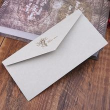 10 шт Ретро винтажный узор крафт бумажные конверты для письма поздравительные открытки приглашения на свадьбу