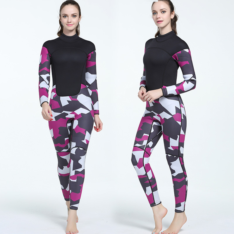 3MM Womens Print Diving Suits Fishing Clothes Surfing Clothes Thickening Warm Clothing  Wetsuit Diving Suit3MM Womens Print Diving Suits Fishing Clothes Surfing Clothes Thickening Warm Clothing  Wetsuit Diving Suit
