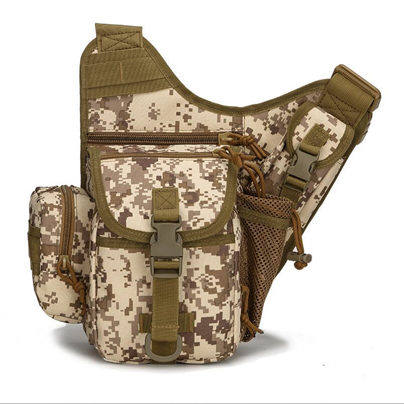 Multifunction Men Military Messenger Bag Waterproof Nylon Camera Chest Bag Male Shoulder Crossbody Back Pack  Bags For Travel kangaroo kingdom famous brand nylon men bag chest pack male one shoulder crossbody messenger bags