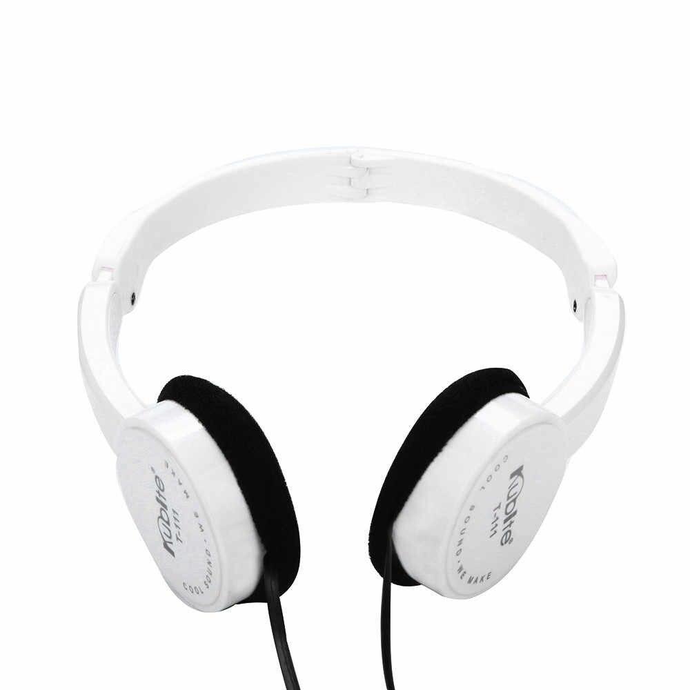 سماعة كوبيت الاطفال سلك سماعات على الأذن طوي سماعة ستيريو السلكية سماعة الألعاب الحديث Mp3 الموسيقى الألعاب يدوي سماعات