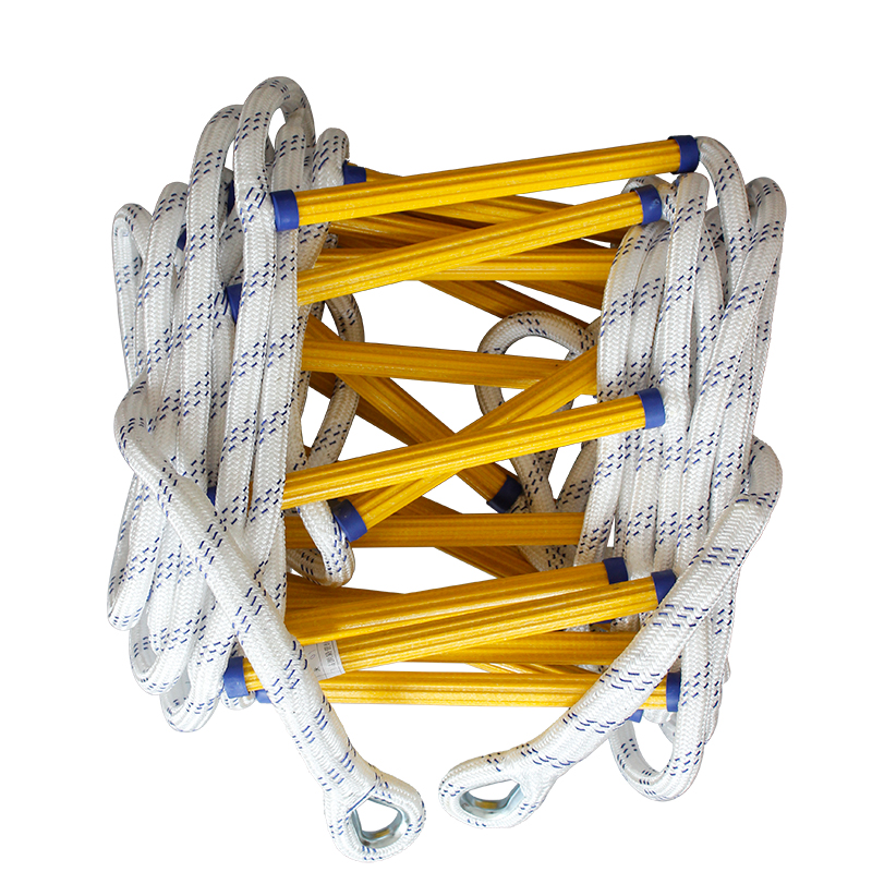 5M Fire Escape Ladder Rescue Rope Emergency Work Safety Response Fire Rescue Self-rescue Rock Climbing Escape Tree