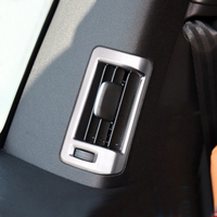 Car Styling ABS Matte 4pcs Interior Back Door Pillar Air Outlet Vent Cover Trim For Volvo XC90 2nd Gen 2015 2018