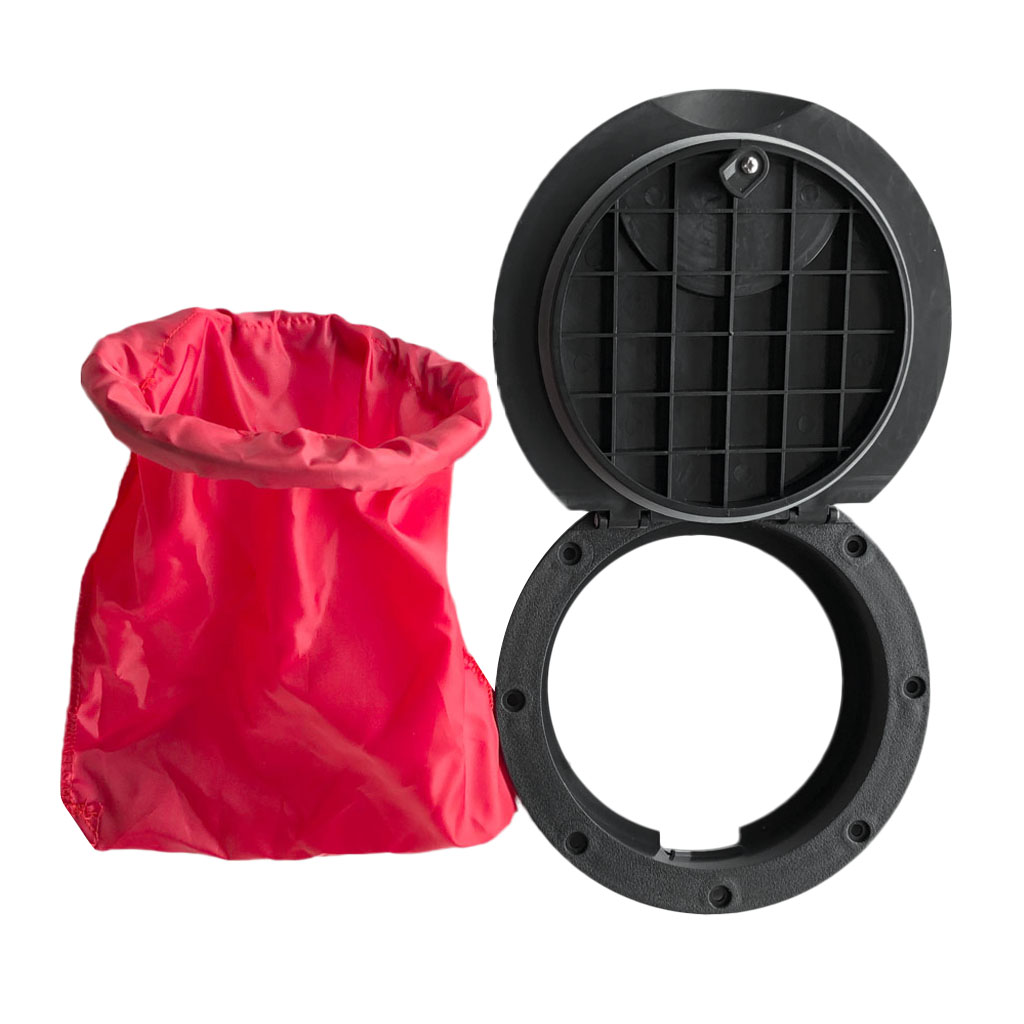 20cm Waterproof Hatch Cover Deck Plate Kit W/ Red Storage Bag For Fishing Marine Boat Kayak Canoe Acccessories