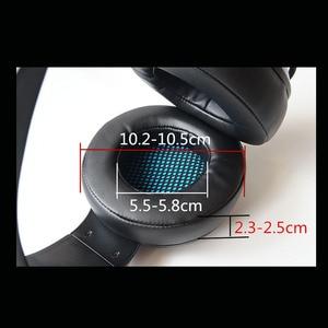 Image 3 - سماعة الألعاب 7.1 الصوت الإفراط في الأذن سماعة أذن USB مع ميكروفون باس ستيريو الكمبيوتر المحمول العلامة التجارية NUBWO N11