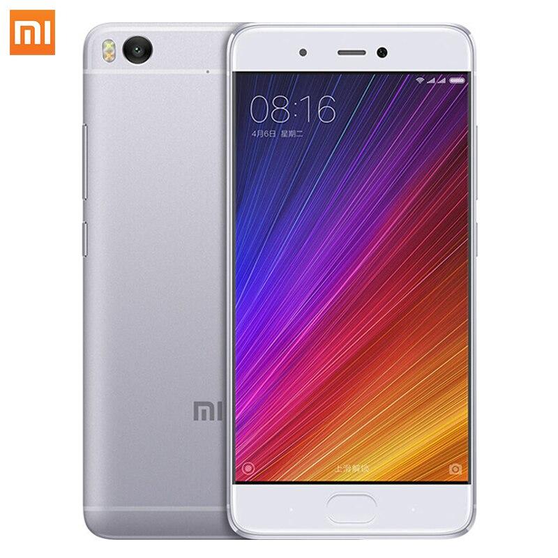 Xiaomi Mi5s Smartphone Snapdragon 821 MIUI8 4GB RAM 128GB ROM cellphone 5 15 Mi 5s Fingerprint