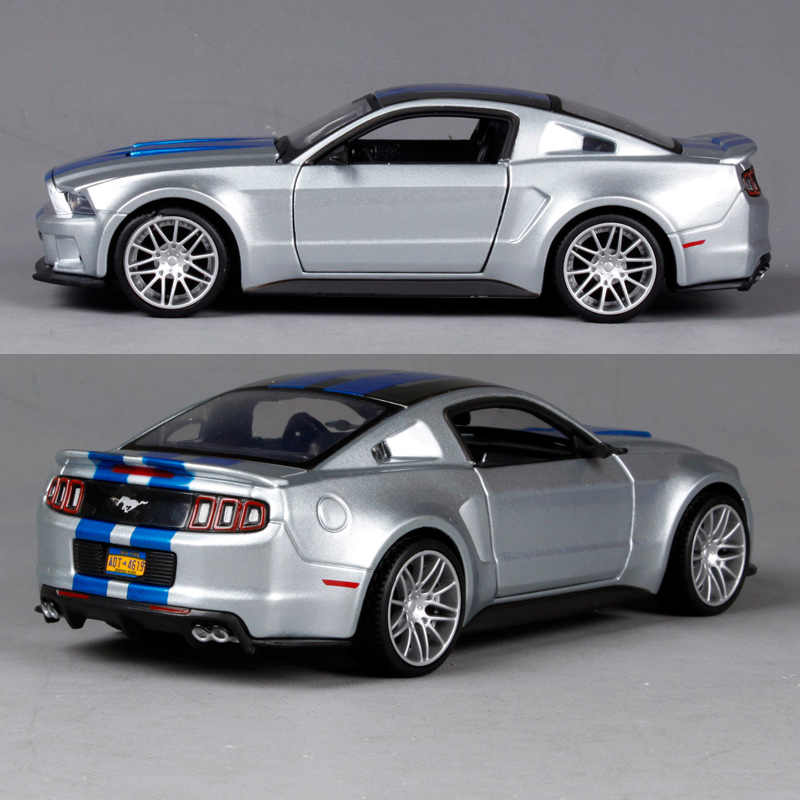 Maisto 1:24 Need For Speed 2014 Ford Mustang GT 5 0 Diecast Model Racing  Car Toy NEW IN BOX 32361
