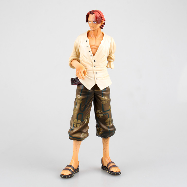 The animation new world four emperor big group of domestic beautiful red haired shanks boxed boxed model