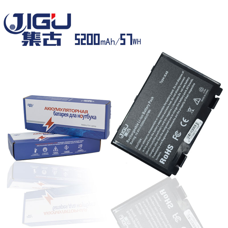 JIGU Batterie D'ordinateur Portable Pour Asus K50AB K70 A32-F52 a32 f82 K50I K60IJ K61IC K61ic