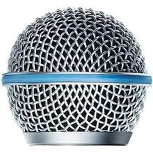 Microfone grill mic grille bola tipo para caber beta sm 58 a beta58a sm 58 bola cabeça malha frete grátis