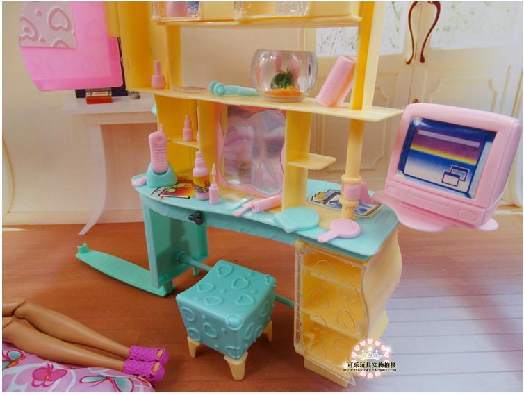 Novi dizajn lutka ormarić set / Dollhouse namještaj za spavaće - Lutke i pribor - Foto 4