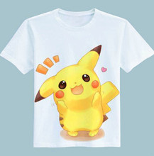 New Arrivals brand clothing 3D printed Pokemon go Pikachu t font b shirt b font for