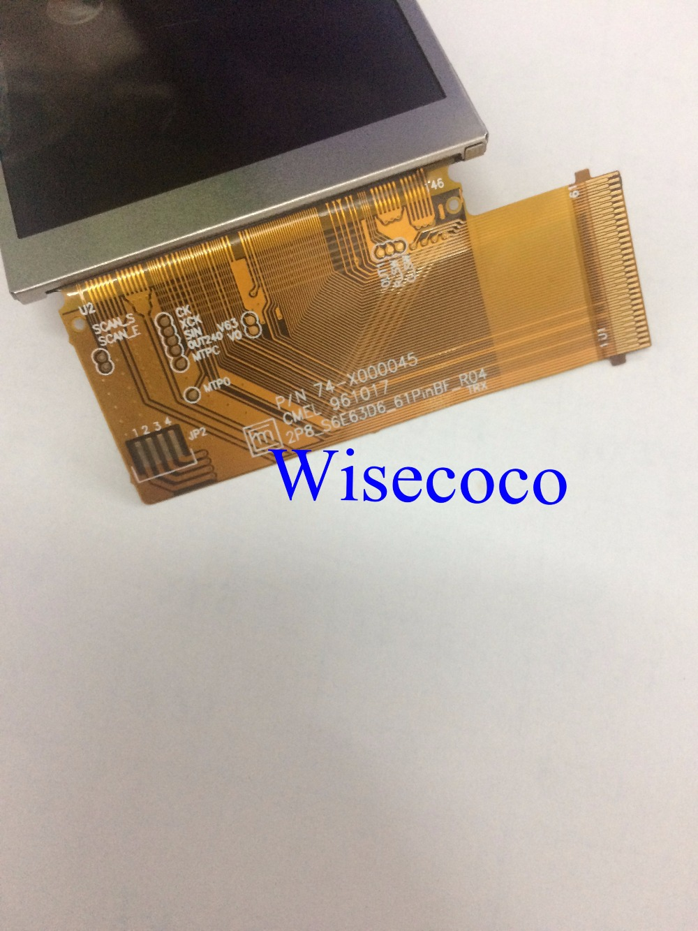 Image 2 - Original 2.83 inch lcd dispaly P/N 74 X000045 CMEL 960914 2P8_S6E63D6_61PinBF_R03 C0283QGLC T C0283QGLD T C0283QGLZ oled screen-in Mobile Phone LCD Screens from Cellphones & Telecommunications